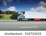 truck transportation | Shutterstock . vector #510724222
