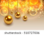 christmas background with... | Shutterstock .eps vector #510727036