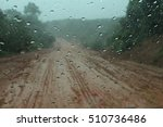 road of south myanmar while... | Shutterstock . vector #510736486