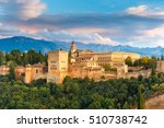 palace and fortress complex...   Shutterstock . vector #510738742