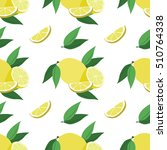 vector seamless pattern with... | Shutterstock .eps vector #510764338