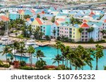Small photo of High dynamic range (HDR) Aerial view of the city of Nassau, USA