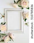 wedding invitation or bridal... | Shutterstock . vector #510785836