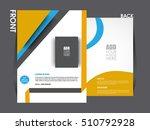 business brochure flyer design...   Shutterstock .eps vector #510792928