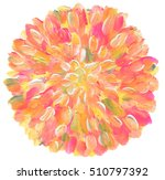 circle abstract acrylic and... | Shutterstock . vector #510797392