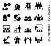 consultant icon set   Shutterstock .eps vector #510803992