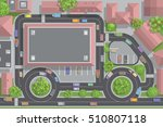 vector illustration. road and... | Shutterstock .eps vector #510807118