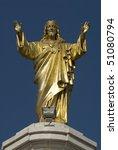 jesus christ   sanctuary fatima ... | Shutterstock . vector #51080794