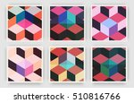 title sheet covers set.... | Shutterstock .eps vector #510816766