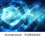 abstract technology concept... | Shutterstock .eps vector #510826462