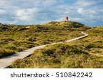 Lighthouse In Norddorf On The...