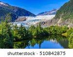 juneau  alaska. mendenhall...   Shutterstock . vector #510842875