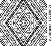 ethnic seamless rhombus pattern ... | Shutterstock .eps vector #510858406