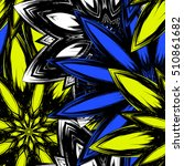 floral background. full... | Shutterstock .eps vector #510861682