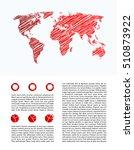 business infographics  report...   Shutterstock .eps vector #510873922