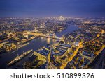 London  England   Aerial...