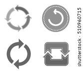 ui interface reload circle...
