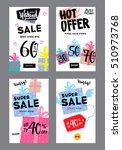 vector gift voucher template...   Shutterstock .eps vector #510973768