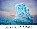 antarctic iceberg of unusual... | Shutterstock . vector #510996196