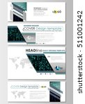 social media and email headers... | Shutterstock .eps vector #511001242