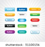 glossy colorful abstract... | Shutterstock .eps vector #51100156