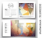 set of business templates for... | Shutterstock .eps vector #511002232