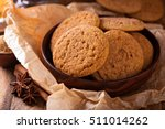 seasonal cinnamon snickerdoodle ... | Shutterstock . vector #511014262