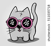 cat funny | Shutterstock .eps vector #511035718