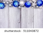 Blue And Silver Christmas...