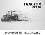 tractor of the particles. the... | Shutterstock .eps vector #511046362