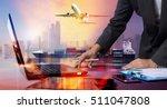 businessman working with...   Shutterstock . vector #511047808