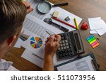 financial paper charts and... | Shutterstock . vector #511073956