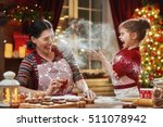 merry christmas and happy... | Shutterstock . vector #511078942