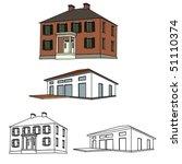 House Sketch Set