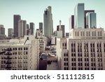 instagram look on downtown of... | Shutterstock . vector #511112815