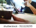 co working website designers... | Shutterstock . vector #511123255