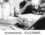 medical doctor team taking...   Shutterstock . vector #511128685