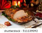 Roast Pork Loin With Christmas...
