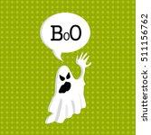 ghosts. vector illustration | Shutterstock .eps vector #511156762