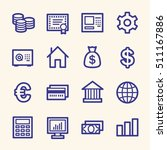 money web icons | Shutterstock .eps vector #511167886