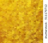 yellow grid mosaic background ... | Shutterstock .eps vector #511170712