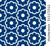 vector pattern design  floral... | Shutterstock .eps vector #511172512