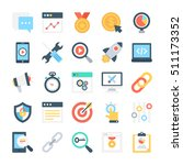 seo and marketing vector icons 6 | Shutterstock .eps vector #511173352