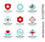 medicine and healthcare.... | Shutterstock .eps vector #511185706