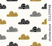 seamless repeating pattern with ... | Shutterstock .eps vector #511195948