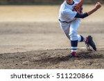 high school baseball player | Shutterstock . vector #511220866