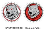 angry dog.vector symbol of... | Shutterstock .eps vector #51122728