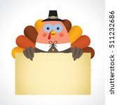 happy thanksgiving or give... | Shutterstock .eps vector #511232686