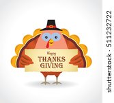 happy thanksgiving or give... | Shutterstock .eps vector #511232722
