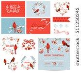scrapbook design elements  ... | Shutterstock .eps vector #511250242